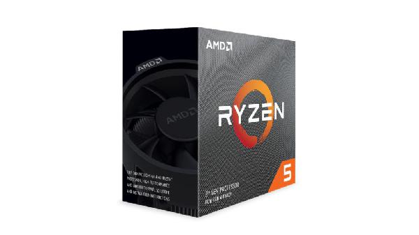 AMD Ryzen 5 3600, 3,6/4,2GHz, 6/12 C/T, AM4, Wraith Stealth Koeler, 65 Watt, no Graphics