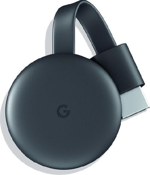 Google Chromecast (2018) Streaming Dongle WIFI Black NL